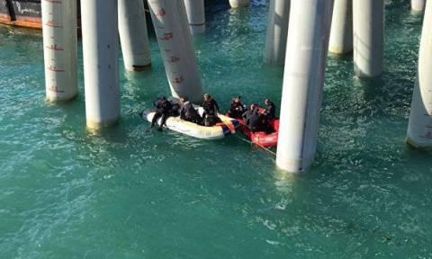 На Кубани автобус рухнул в море, погибли 16 человек