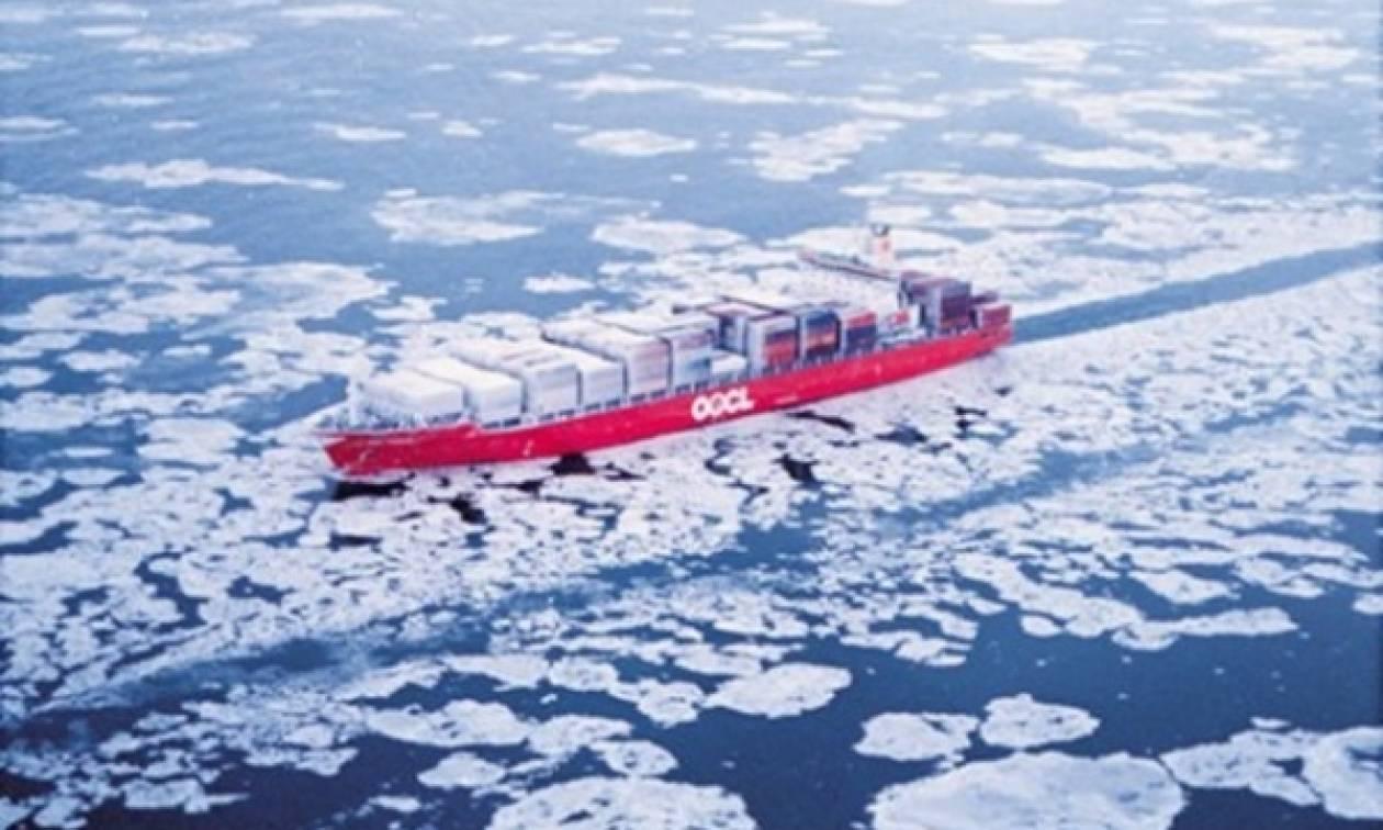 Δεξαμενόπλοιο πέρασε την Αρκτική χωρίς συνοδεία παγοθραυστικών!