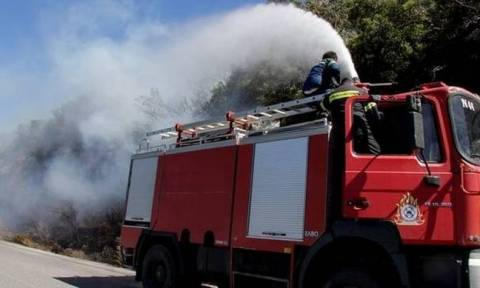 Fire breaks out in western Achaia