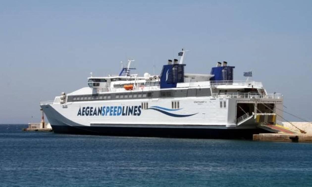 Πρόβλημα με το «Speedrunner ΙΙΙ» - Ταλαιπωρία για 800 επιβάτες