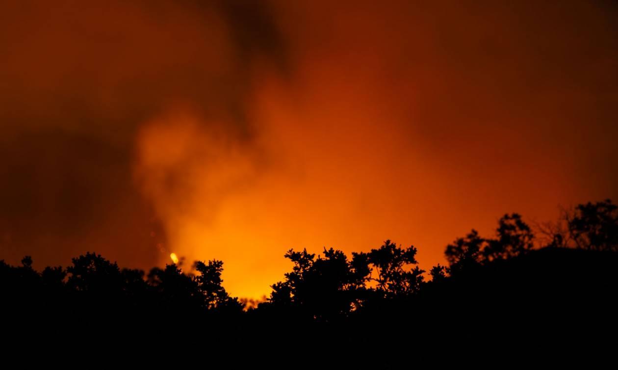 Φωτιά ΤΩΡΑ στη Ρόδο