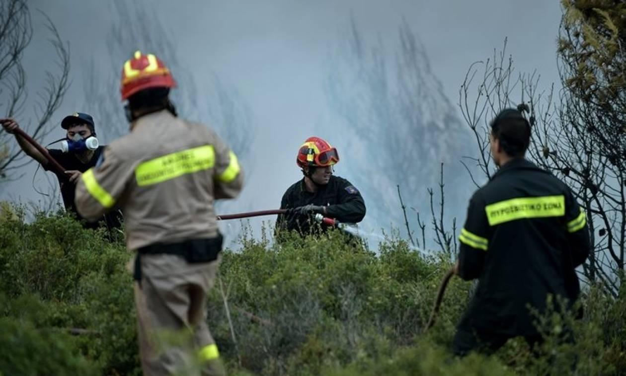 Προσοχή! Πολύ υψηλός ο κίνδυνος πυρκαγιάς και σήμερα Κυριακή