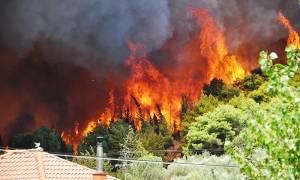 Φωτιά Ζάκυνθος: Δραματικές προσπάθειες να οριοθετηθεί η πύρινη λαίλαπα