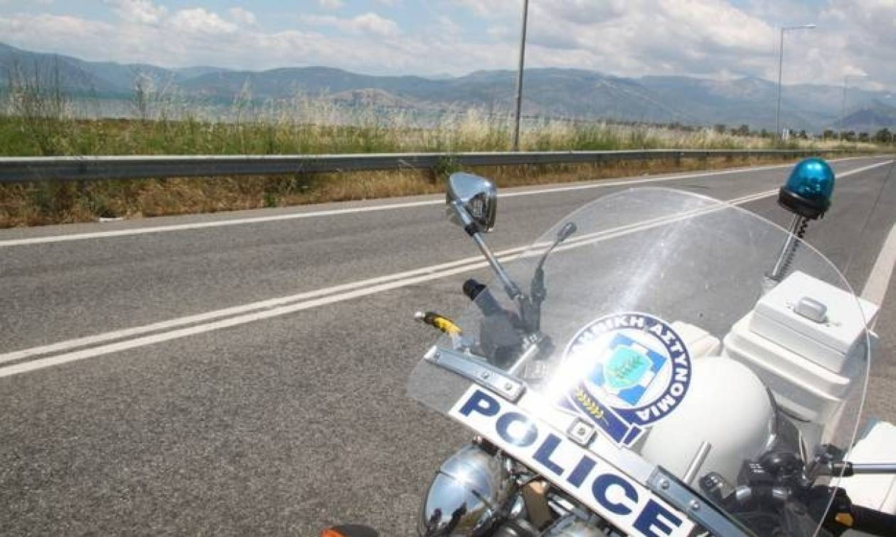 Τροχαίο ατύχημα για διακινητές μεταναστών στη Εγνατία Οδό