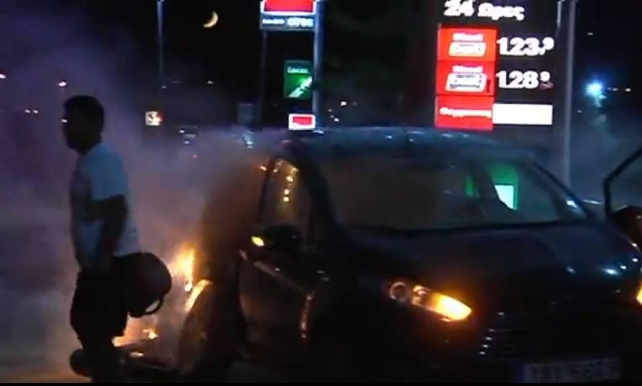 Σοβαρό τροχαίο στην Αθηνών - Κορίνθου μια ανάσα από πρατήριο καυσίμων (pics&vid)