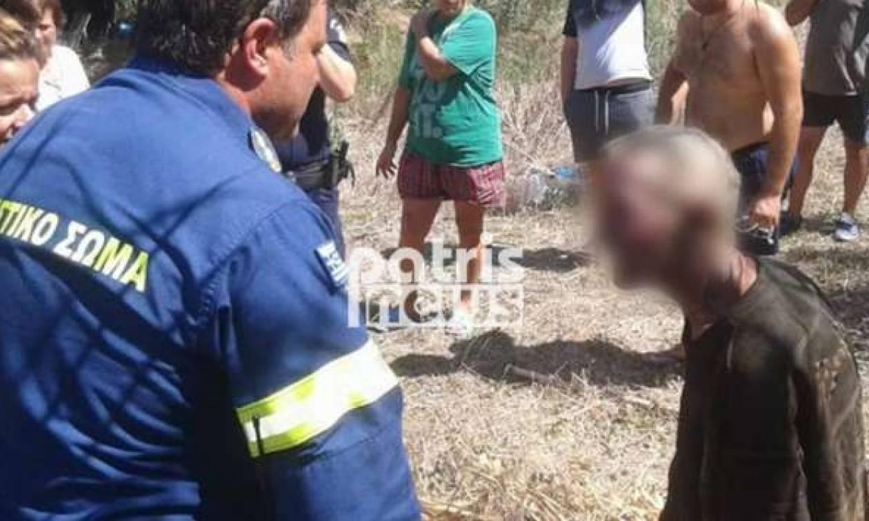 Ηλεία: Έκρηξη φιάλης υγραερίου σε καλύβα - Τραυματίστηκε ηλικιωμένος (pics)