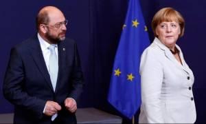 Σκληρή επίθεση Σουλτς προς Μέρκελ: Είναι εκτός πραγματικότητας