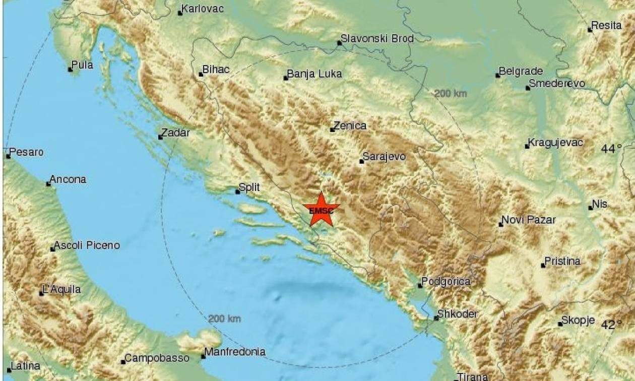 Σεισμός στη Βοσνία