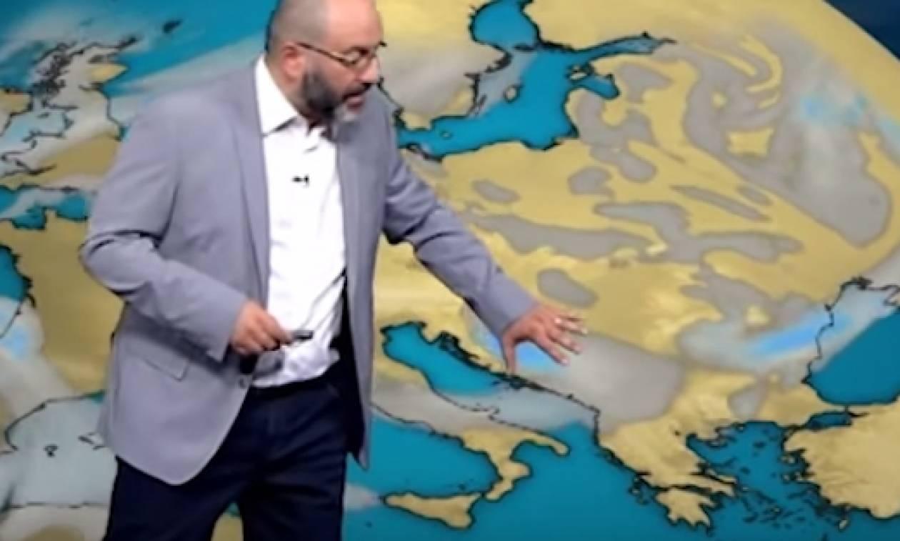 Σάκης Αρναούτογλου: Σε ποιες περιοχές έρχονται βροχές και καταιγίδες (video)