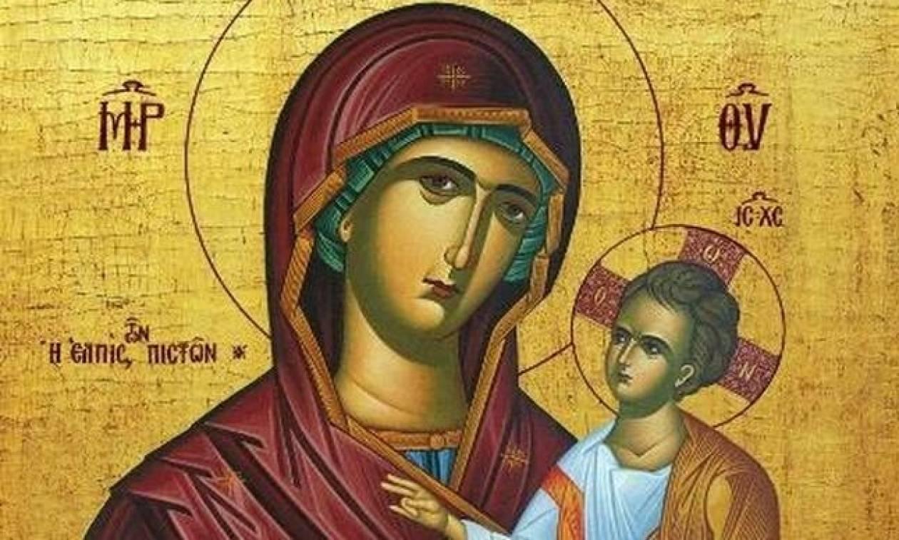 Σοκ! Καταγγέλλουν Συριζαία, ότι πέταξε στα σκουπίδια την εικόνα της Παναγίας!