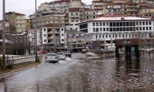 Καιρός: Προβλήματα από την κακοκαιρία στα Γρεβενά