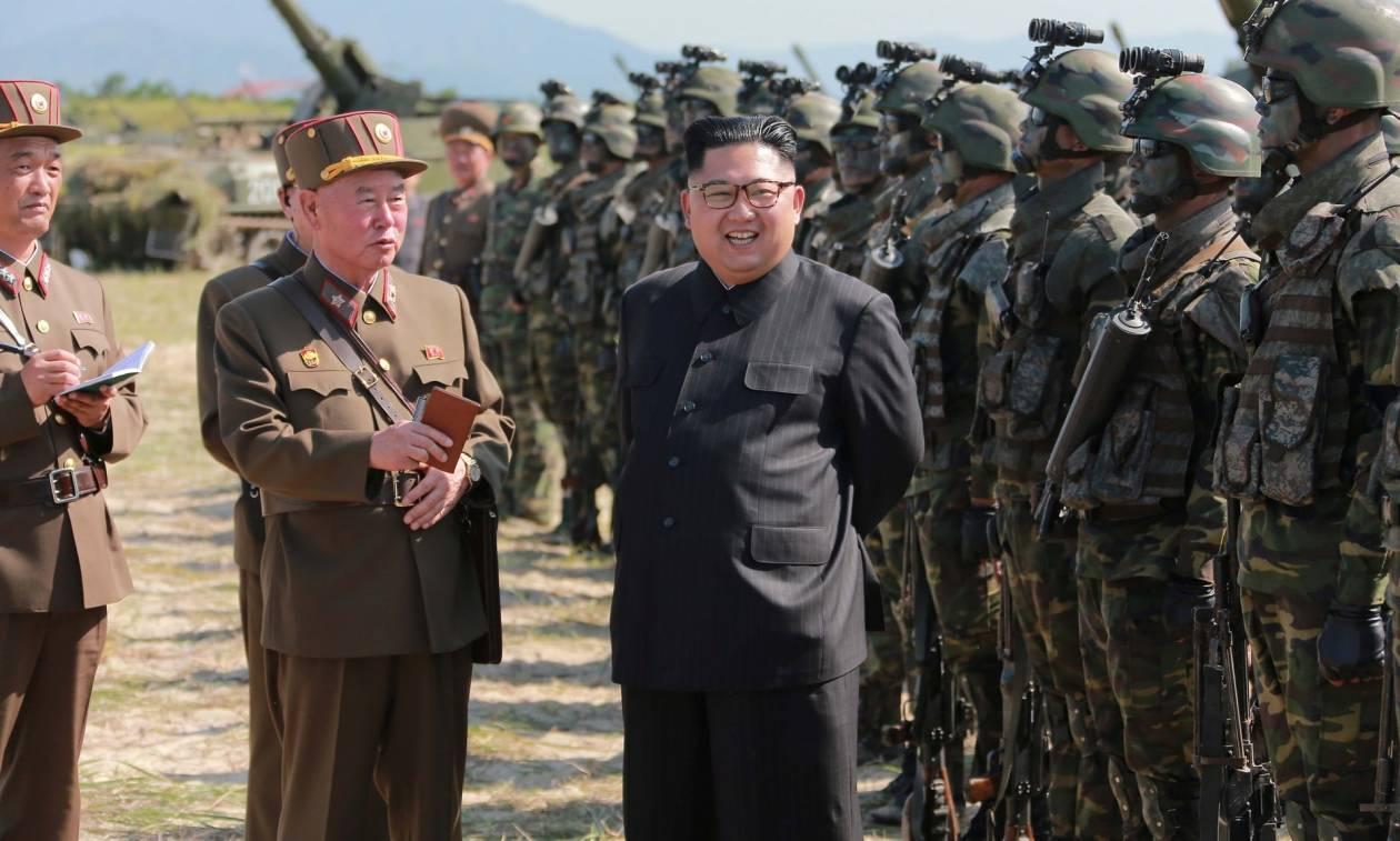 Τύμπανα πολέμου: Η χθεσινή δοκιμή ήταν πρόβα για την επίθεση στη Γκουάμ δηλώνει ο Κιμ Γιονγκ Ουν