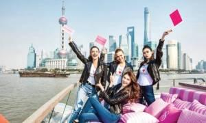 Πλώρη για... Σαγκάη έβαλαν οι Άγγελοι του Victoria Secret's!