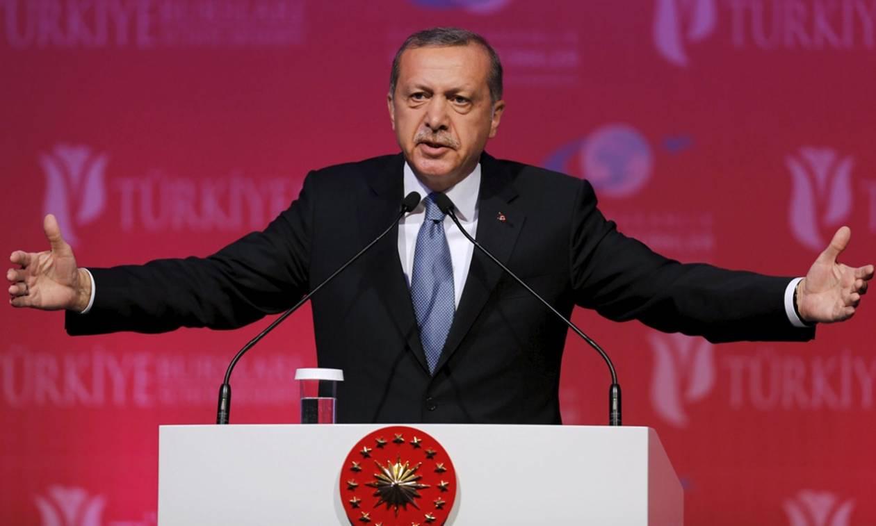Προκλητικός Ερντογάν την «Ημέρα Νίκης»: Με την ίδια θέληση θα νικήσουμε τους εχθρούς μας