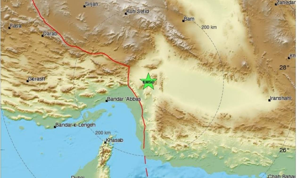 Ισχυρός σεισμός χτύπησε το Ιράν
