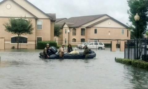 Houston flood: 'No way to prevent' chemical plant blast
