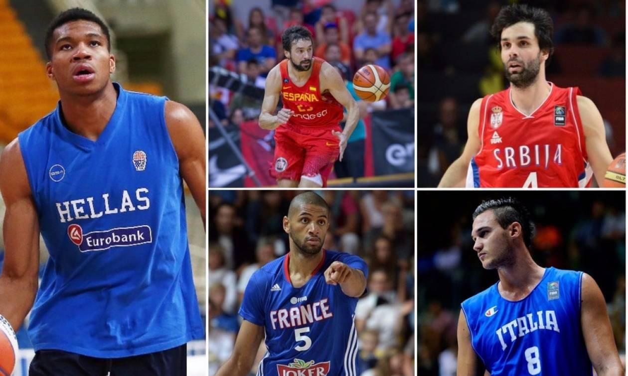 Eurobasket 2017: Ποιοι αστέρες του μπάσκετ δεν θα παίξουν στη φετινή διοργάνωση