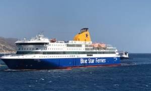 Blue Star Patmos - Αποκλειστικό βίντεο: Πότε θα ρυμουλκηθεί στην Ίο (pics)