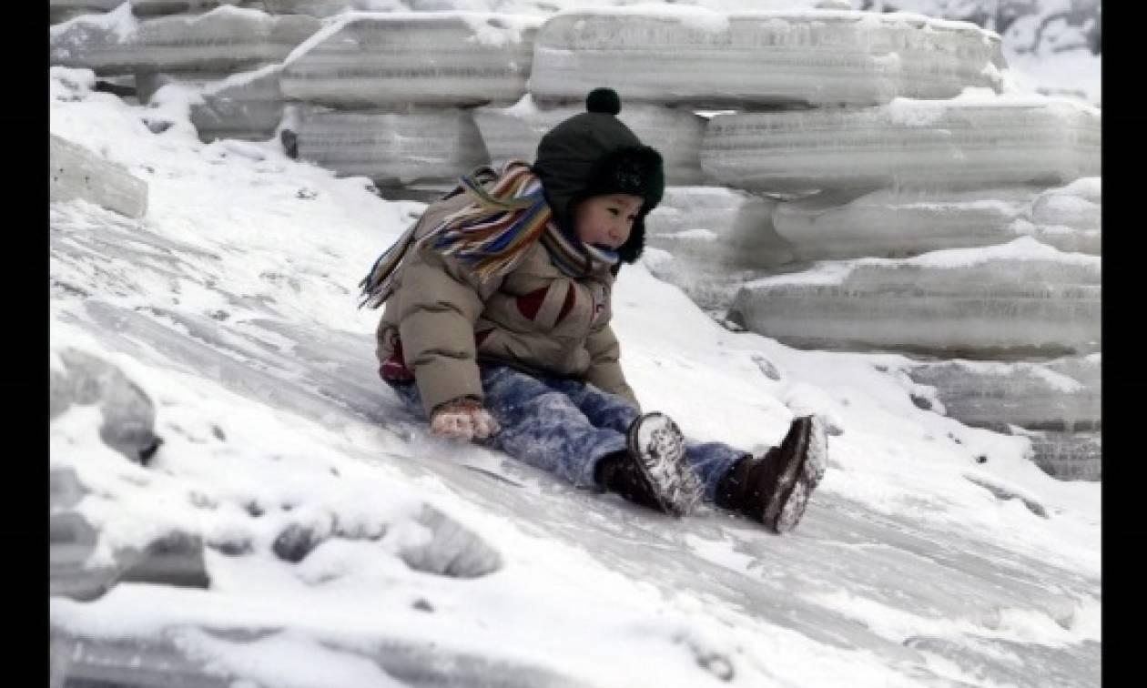 Χιόνισε μέσα στον Αύγουστο στη Μογγολία!