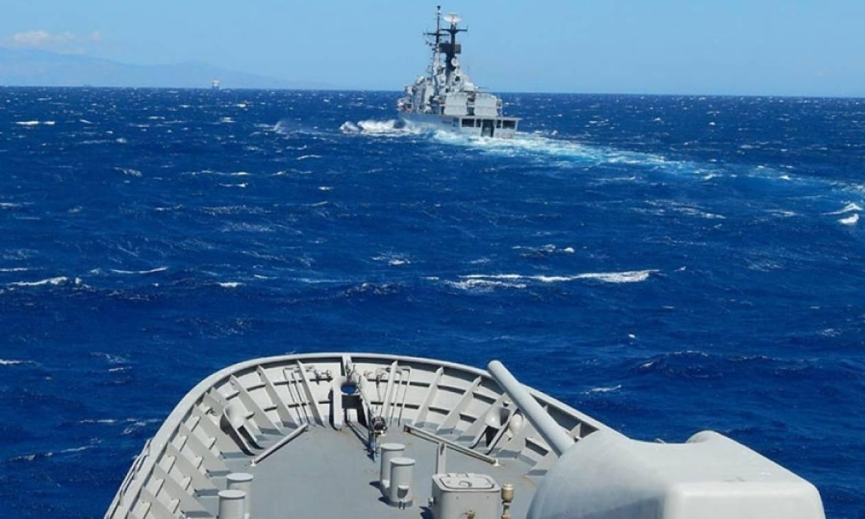 Συνεκπαίδευση του Πολεμικού Ναυτικού με το Ναυτικό της Ιταλίας