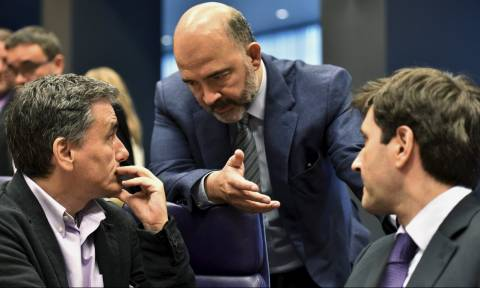 Tsakalotos and Chouliarakis to meet with EU Commissioner Moscovici on Tuesday