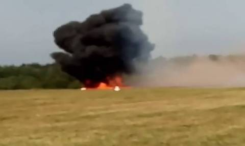 An-2 plane crashes outside Moscow, killing 2