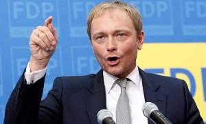 Γερμανία - Λίντνερ: Ναι σε συγκυβέρνηση με το CDU αλλά...