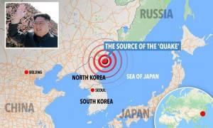 Πανικός στους κατοίκους της Κίνας από τον ισχυρό σεισμό της πυρηνικής δοκιμής τη Βόρειας Κορέας