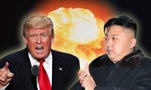 Ραγδαίες εξελίξεις: Έτοιμος για πόλεμο με τη Βόρεια Κορέα ο Τραμπ