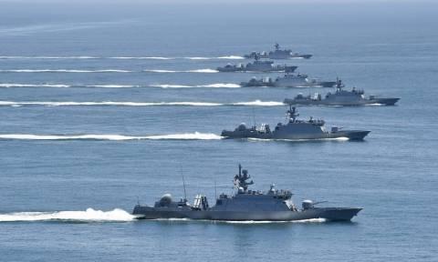 Με ναυτικά γυμνάσια απαντά η Σεούλ στη Βόρεια Κορέα