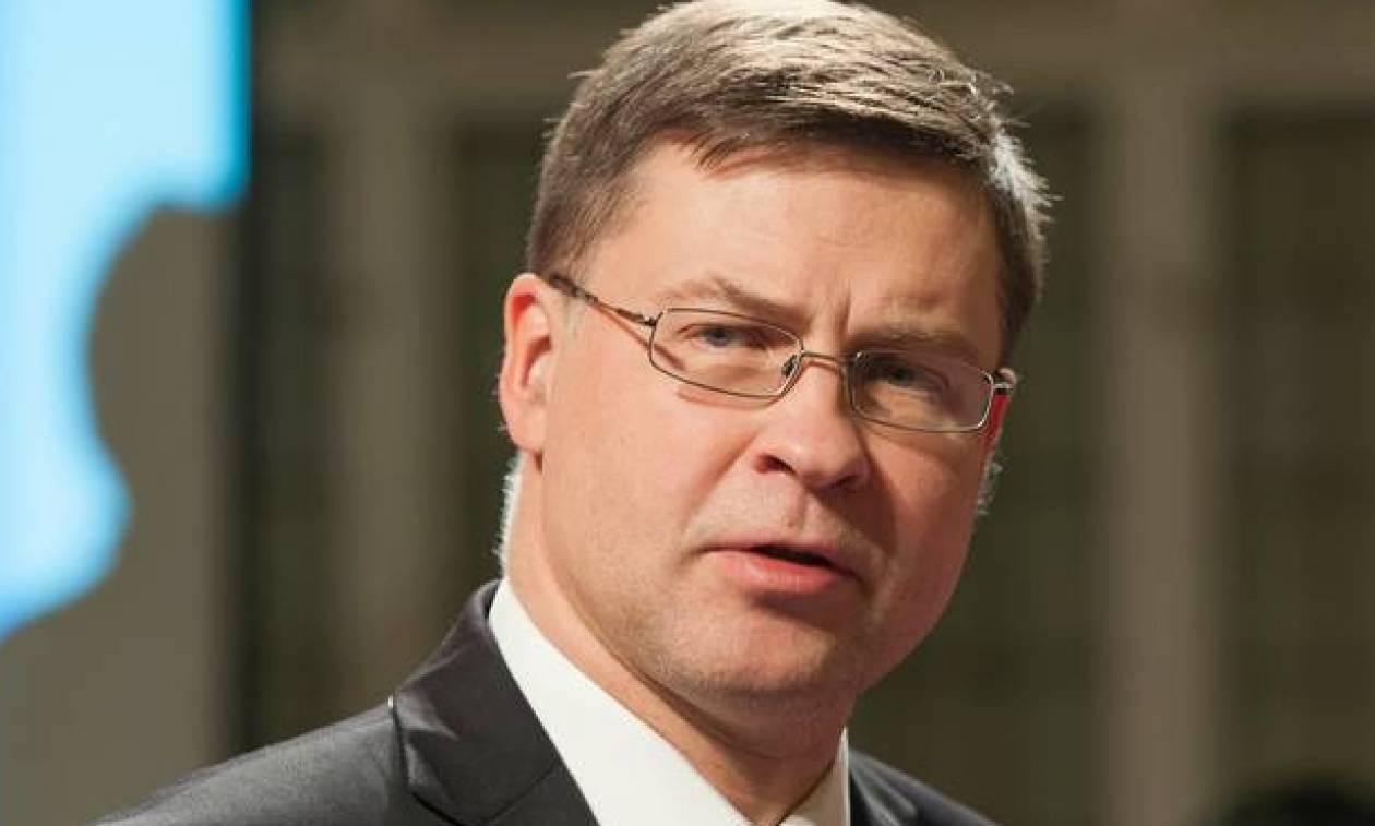 Ντομπρόβσκις: Ιδανικά έως το 2019 η συμφωνία για το ευρωπαϊκό σύστημα ασφάλισης καταθέσεων
