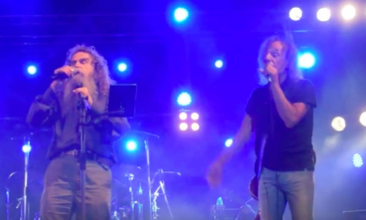 Ψαραντώνης και Παπακωνσταντίνου τραγουδούν Ξυλούρη και «ρίχνουν» το Γεντί Κουλέ στο Ηράκλειο! (vid)