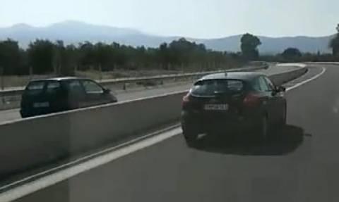 Βίντεο - ΣΟΚ από την Εθνική Οδό Καλαμάτας - Κορίνθου!