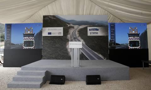 PM Tsipras inaugurates Ionian highway