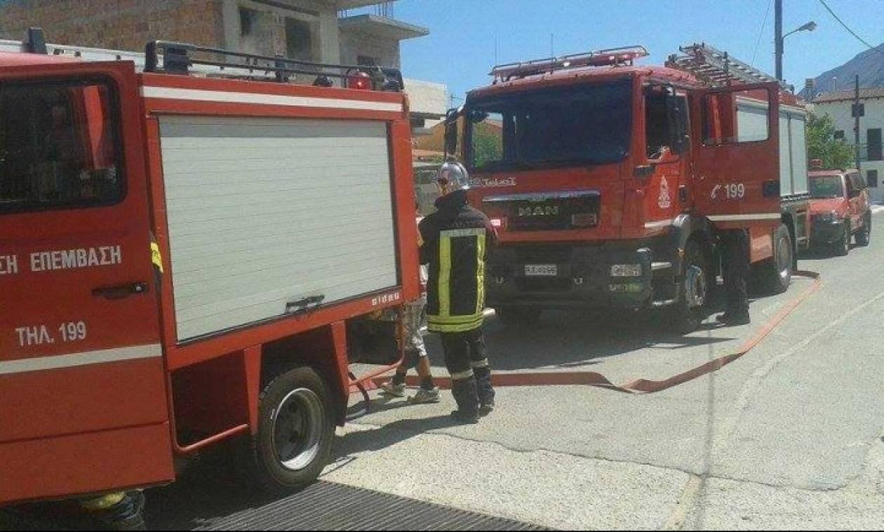 Κρήτη: Μάλωσε με τη μητέρα του και έβαλε φωτιά στο σπίτι!