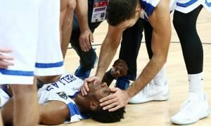 Ο σοκαριστικός τραυματισμός του Θανάση Αντετοκούνμπο! (pics)