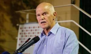 Παπανδρέου: Δεν θα είμαι υποψήφιος