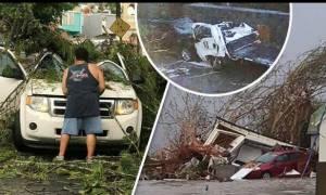Καραϊβική: Φονικό πέρασμα του τυφώνα Ίρμα - Δύο νεκροί και δύο χαροπαλεύουν (pics+vids)