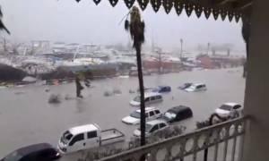 Κυκλώνας Ίρμα: Μεγάλες καταστροφές στο νησί του Αγίου Μαρτίνου - Φόβοι για δεκάδες νεκρούς (vid)