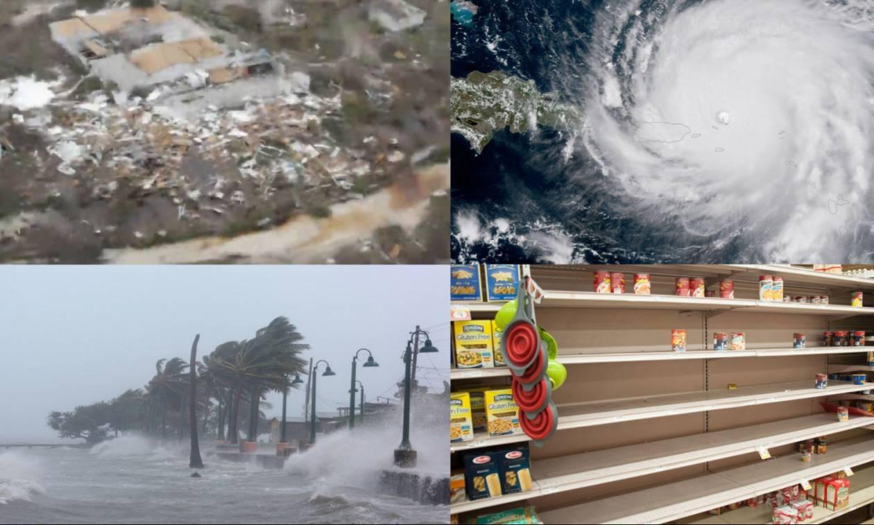 Εικόνες απόλυτης καταστροφής στην Καραϊβική: Ο κυκλώνας Ίρμα «εξαφάνισε» δύο νησιά – 10 οι νεκροί