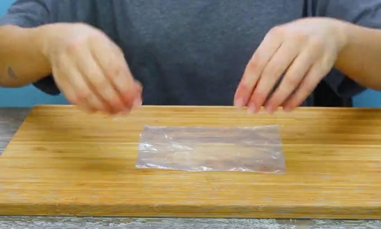 Απίστευτα τρικ που θα τα κάνετε με πλαστικά σακουλάκια (Video)