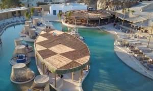Τώρα πια η Μύκονος έχει τη μεγαλύτερη πισίνα στην Ευρώπη