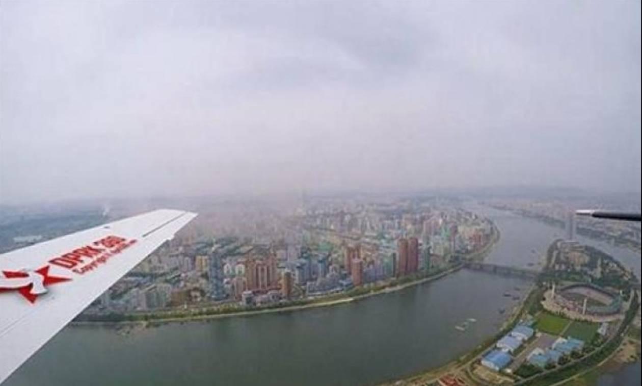 Σπάνιο βίντεο: Δείτε πώς είναι από ψηλά η πρωτεύουσα της Βόρειας Κορέας!