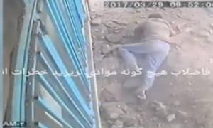 Βίντεο - σοκ! Πέταξε τσιγάρο στον υπόνομο και προκάλεσε έκρηξη!