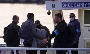 Μυτιλήνη: Επέστρεψαν στην Τουρκία εννέα μετανάστες