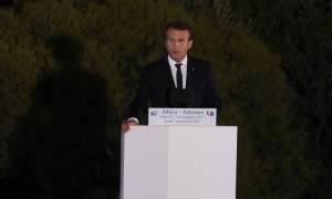 Ομιλία Μακρόν στην Πνύκα: Χρειαζόμαστε την Ευρώπη περισσότερο από ποτέ