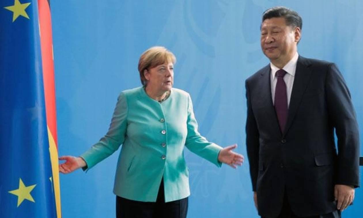 Μέρκελ και Τζινπίνγκ συμφώνησαν σε αυστηρότερες κυρώσεις κατά της Β. Κορέας
