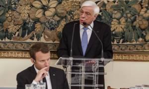 Επίσκεψη Μακρόν – Παυλόπουλος: Να ενισχυθεί το Κοινωνικού Κράτους Δικαίου στην ΕΕ