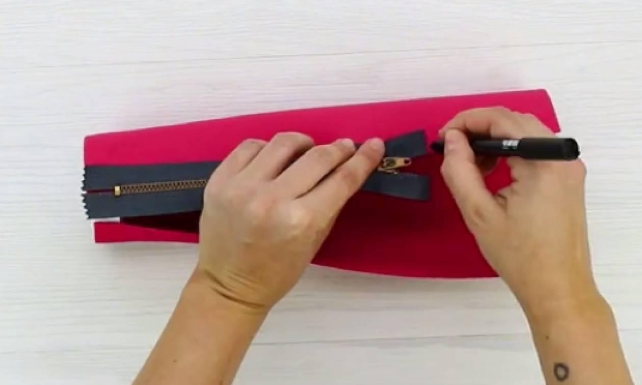 Τα σχολεία ανοίγουν... Φτιάξτε απίθανη μολυβοθήκη με ένα παλιό σας... τζιν (video)