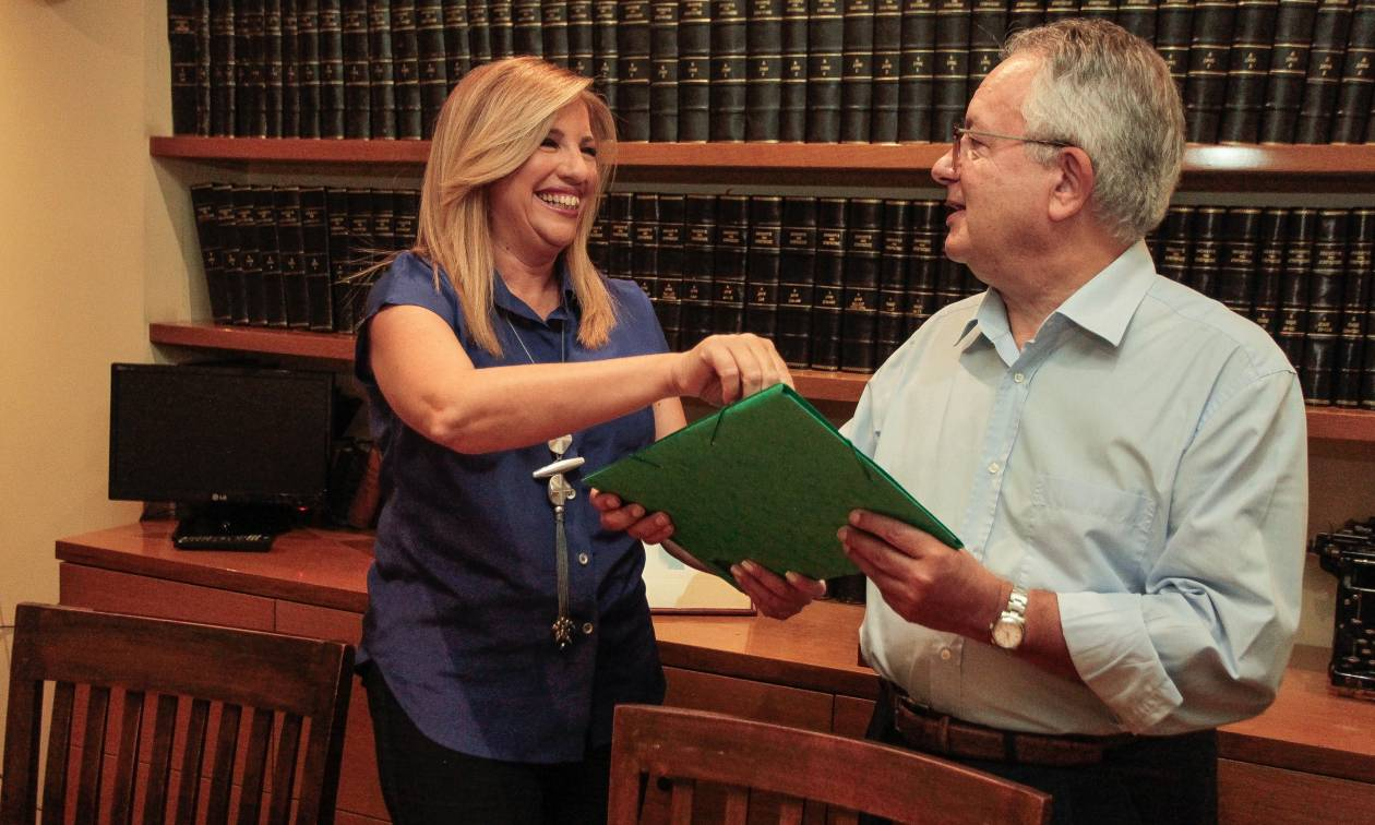 Κεντροαριστερά: Και επίσημα υποψήφια πρόεδρος η Φώφη Γεννηματά